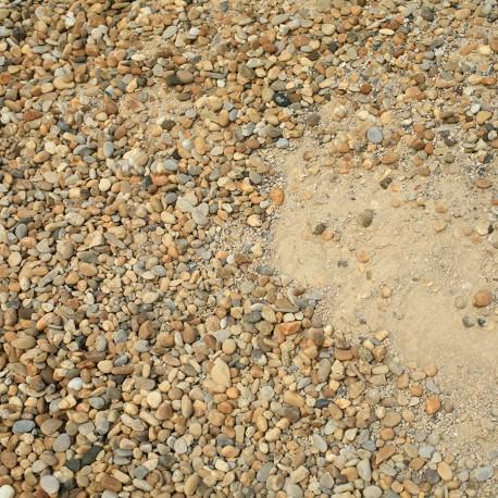 Mélange-béton mixte Vaugines-Bellegarde 0/16 ou 0/22mm